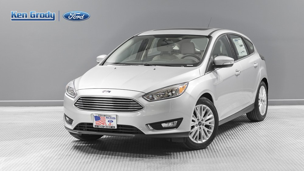 New 2017 Ford Focus Titanium Hatchback in Buena Park 84247  Ken