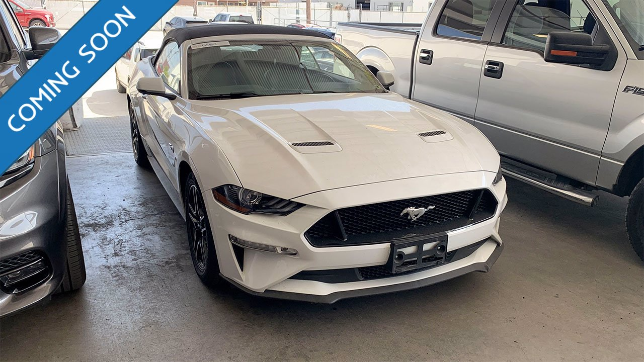 Certified Pre-Owned 2019 Ford Mustang GT Premium
