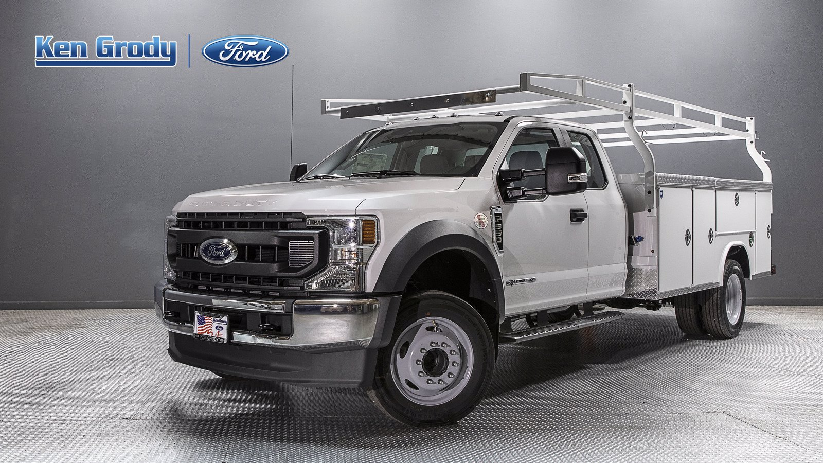 New 2020 Ford Super Duty F-550 DRW XL With 11 Utility