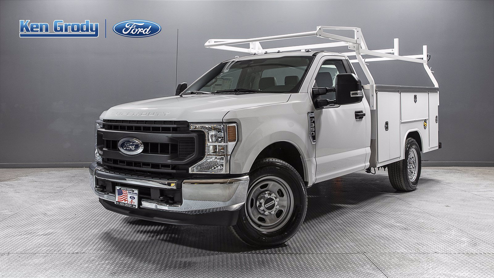 New 2020 Ford Super Duty F-350 SRW XL With 9 Utility