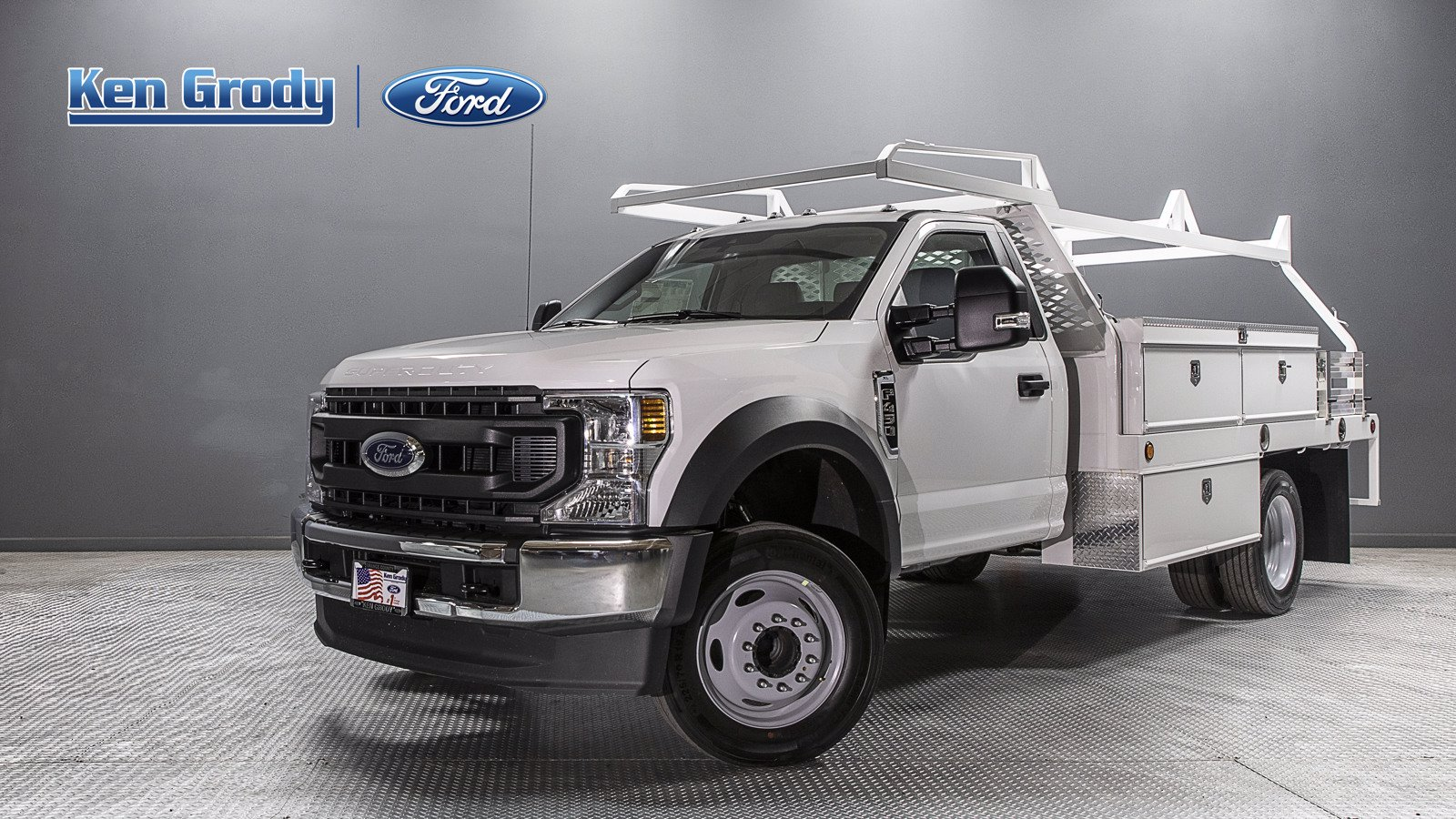New 2020 Ford Super Duty F-450 DRW XL With 12 Contractor