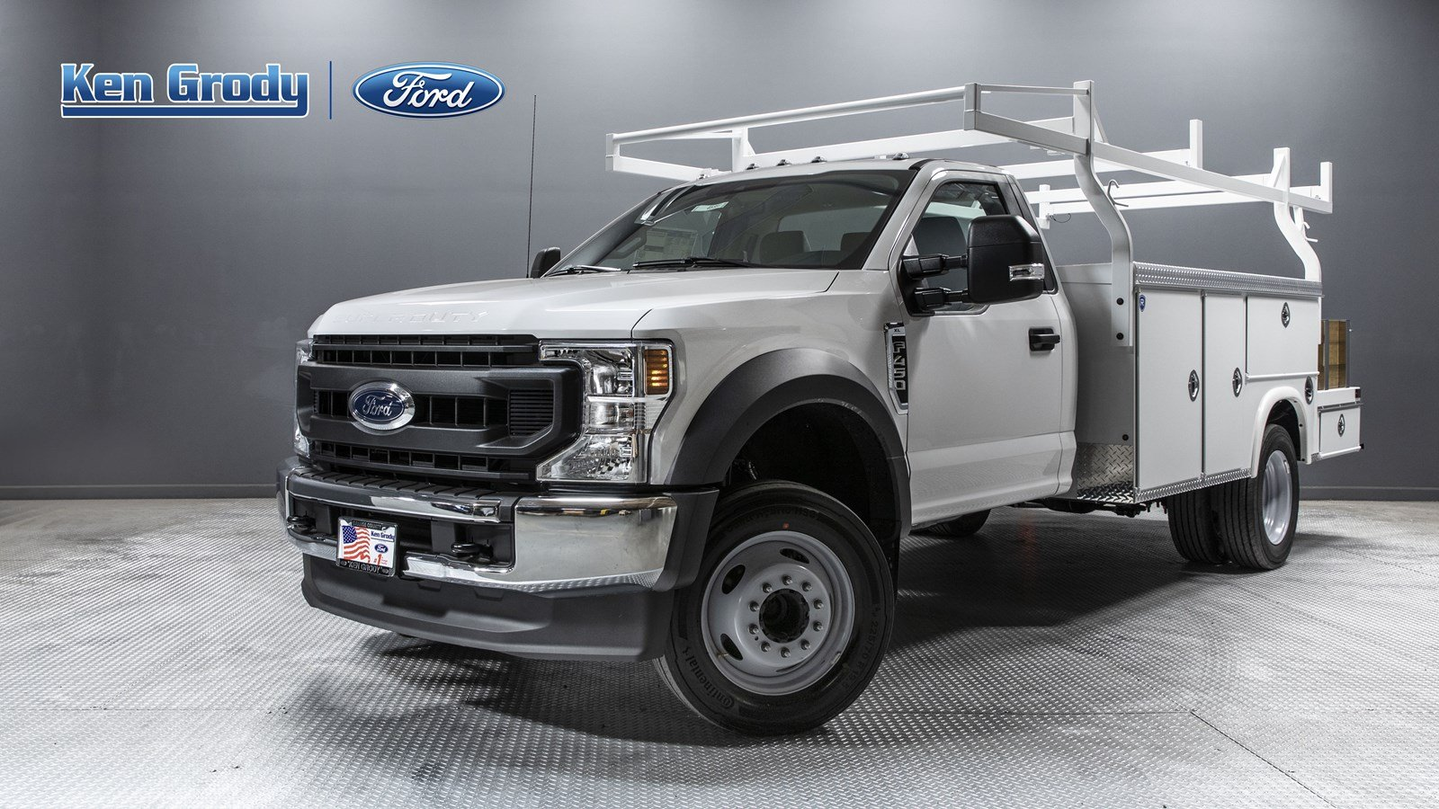 New 2020 Ford Super Duty F-450 DRW XL With 12 Combo
