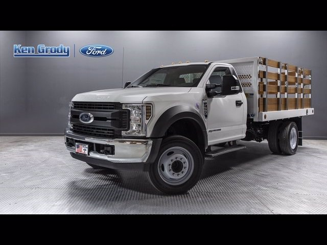 New 2019 Ford Super Duty F-550 DRW XL With 12 Stakebed