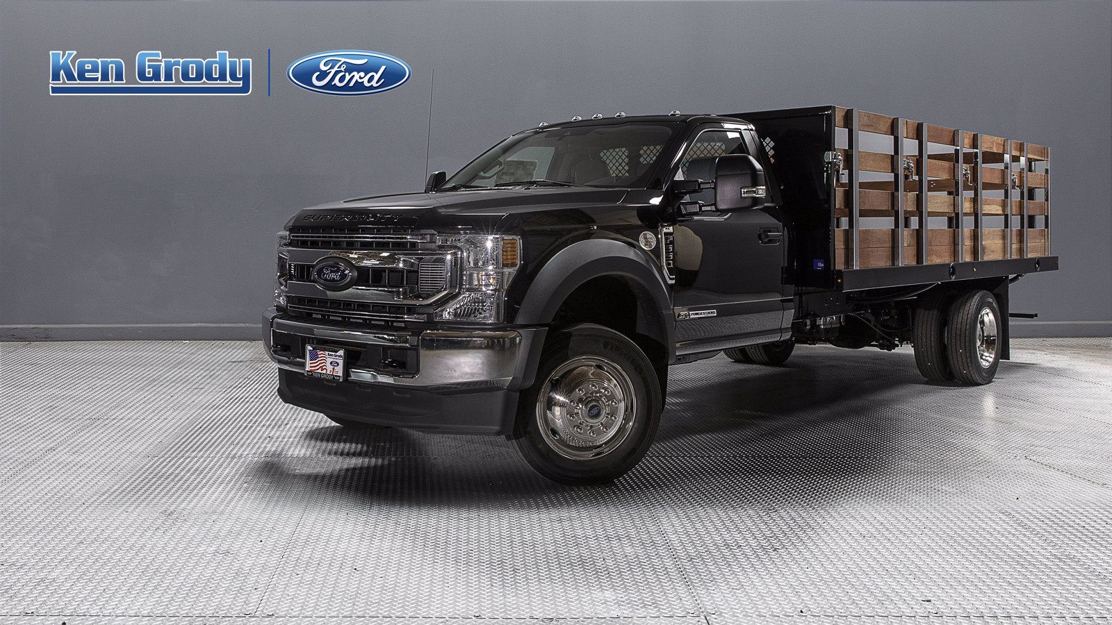 New 2020 Ford Super Duty F-550 DRW XL With 16 Stakebed