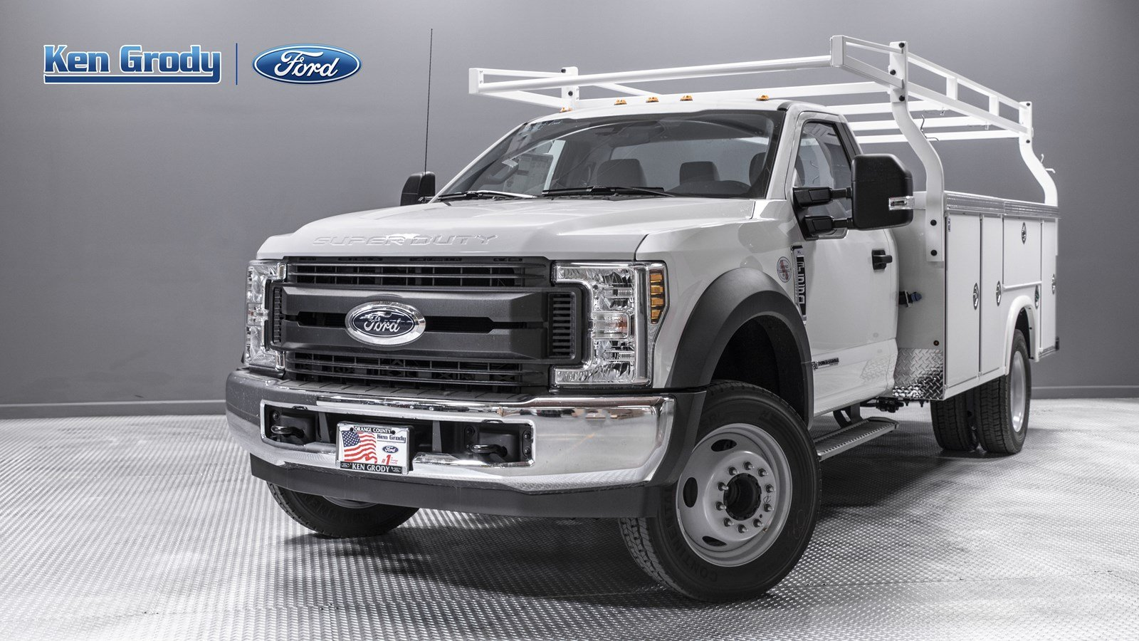 New 2019 Ford Super Duty F-550 DRW XL With 11 Utility