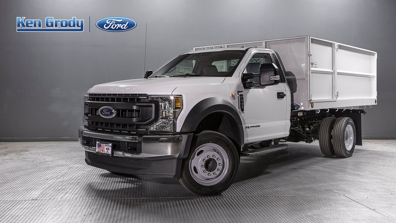New 2020 Ford Super Duty F-550 DRW XL With 12 Landscape Dump