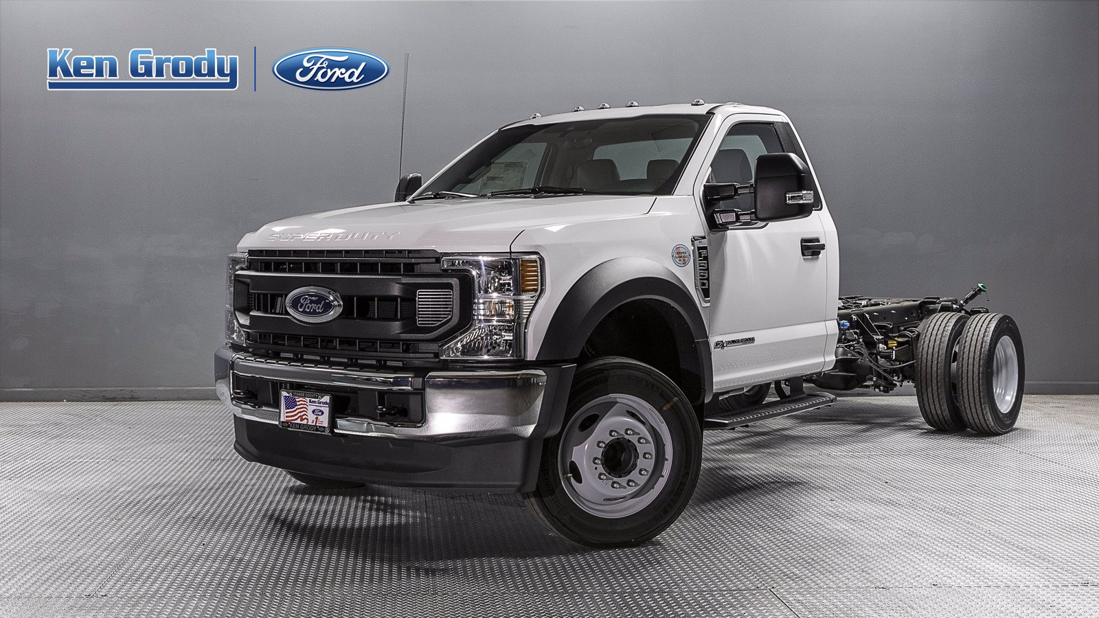 New 2020 Ford Super Duty F-550 DRW XL