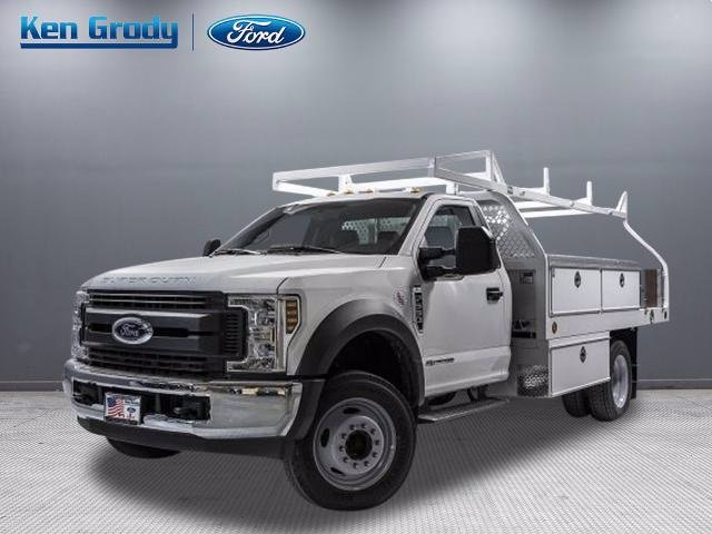 New 2019 Ford Super Duty F-550 DRW XL With 12 Contractor