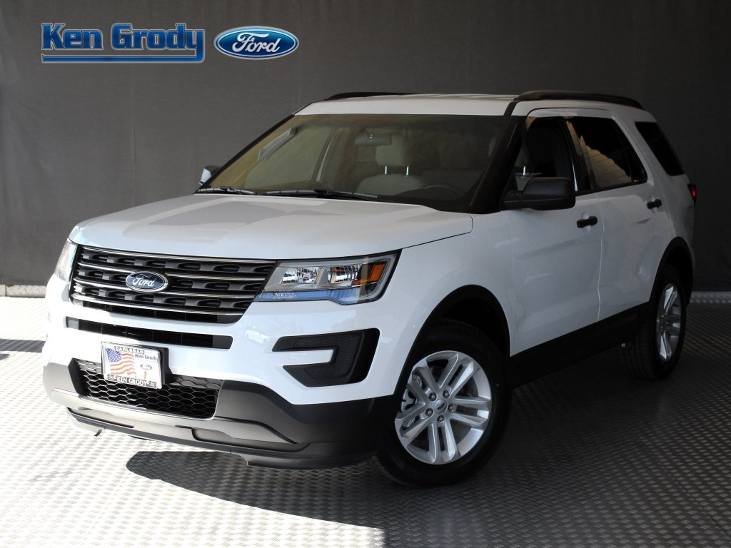 New 2017 Ford Explorer Base Sport Utility in Buena Park 88382