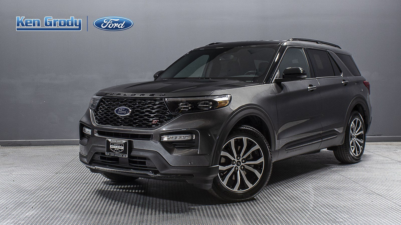 New Ford Explorer >> New 2020 Ford Explorer St With Navigation 4wd