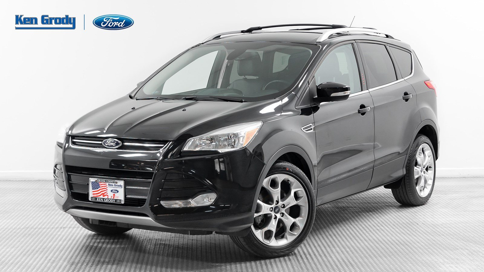 Certified PreOwned 2014 Ford Escape Titanium Sport Utility in