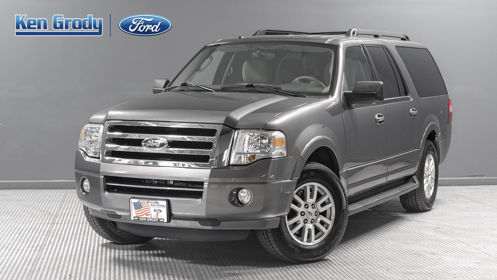 Ford Expedition El >> Pre Owned 2013 Ford Expedition El Xlt Sport Utility In Buena Park