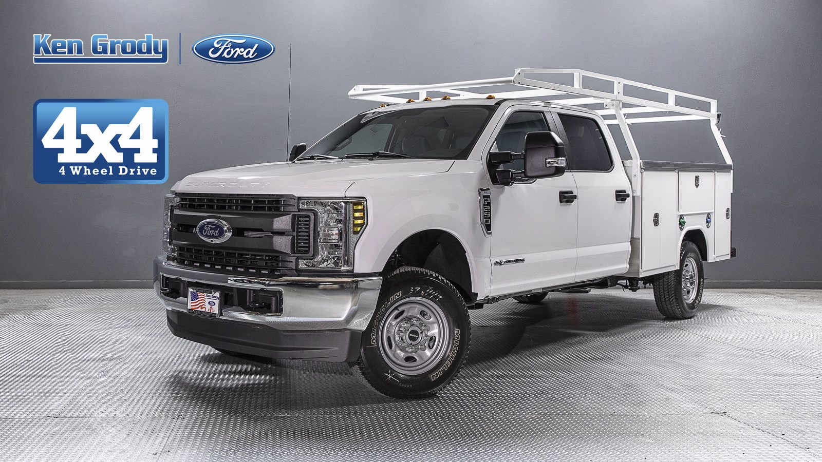 New 2019 Ford Super Duty F-250 SRW XL With 8 Utility