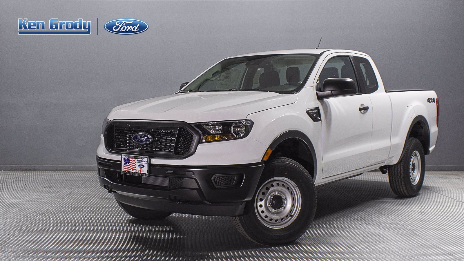 New 2020 Ford Ranger XL