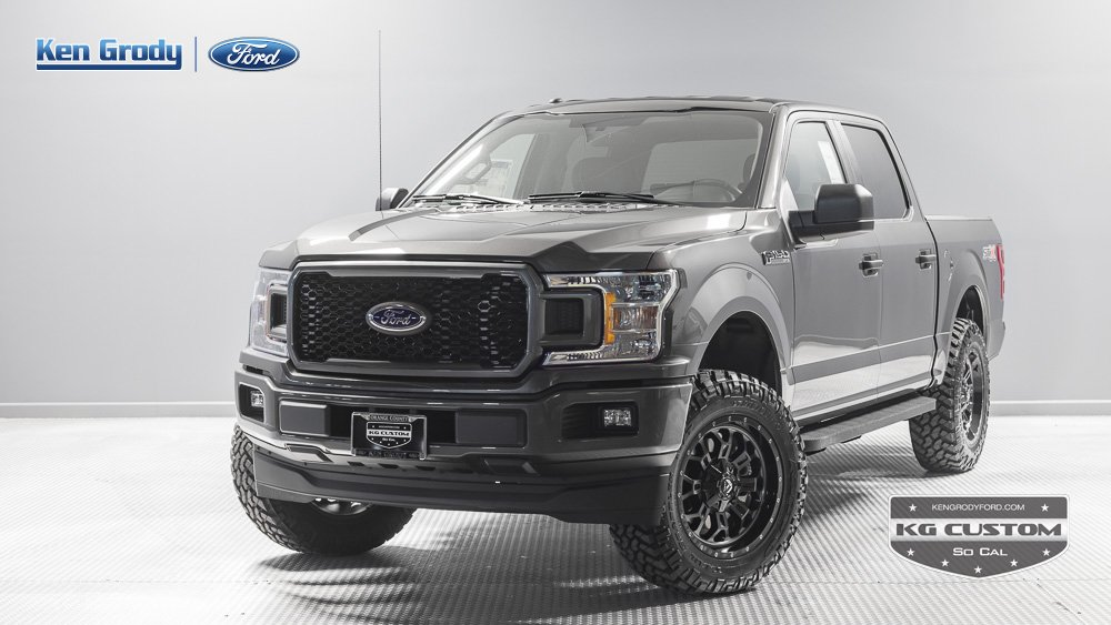 New 2018 Ford F150 XL Crew Cab Pickup in Buena Park 90180  Ken