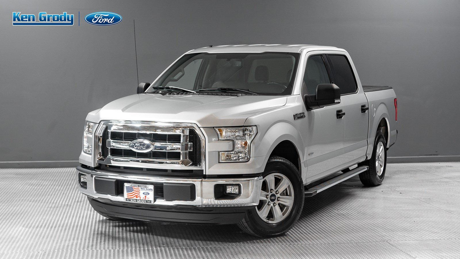 Certified pre owned 2015 ford f 150 xlt