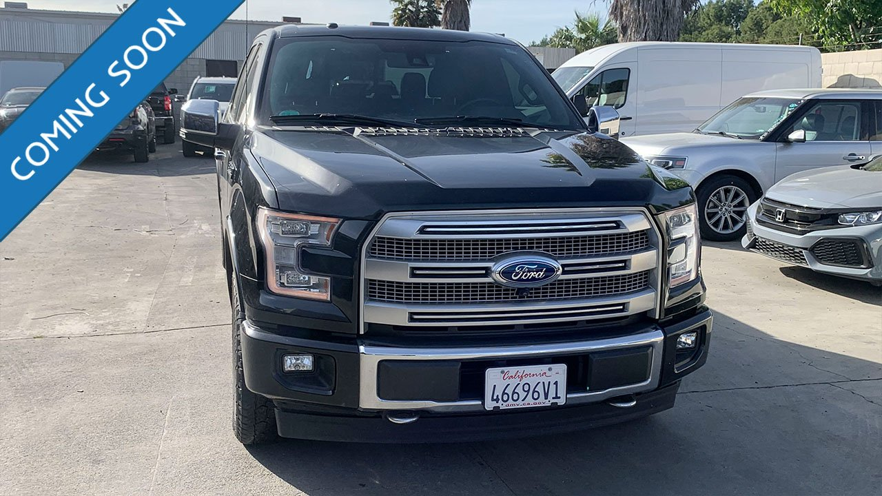 Certified Pre-Owned 2017 Ford F-150 Platinum
