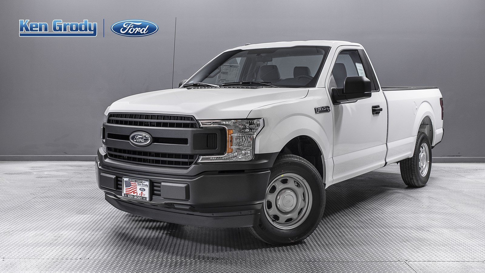 New Ford F150 >> New 2019 Ford F 150 Xl Rwd Regular Cab Pickup