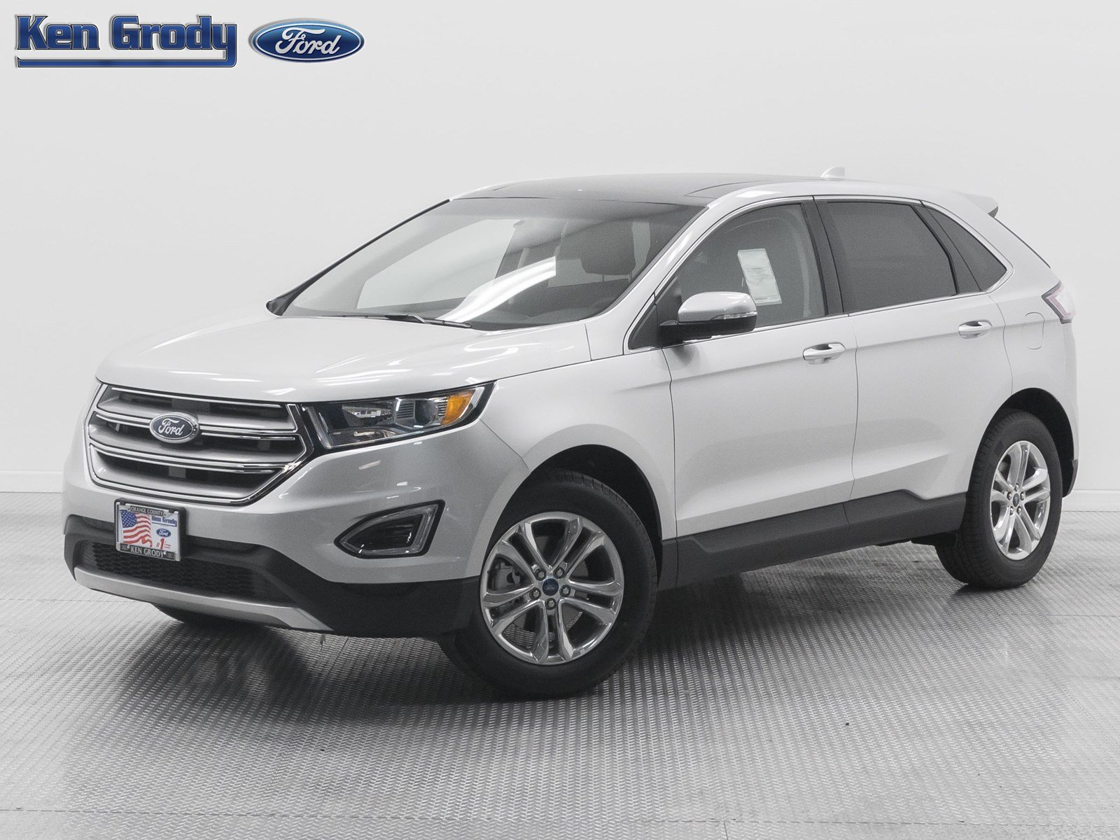 New 2017 Ford Edge SEL Sport Utility in Buena Park 84539  Ken
