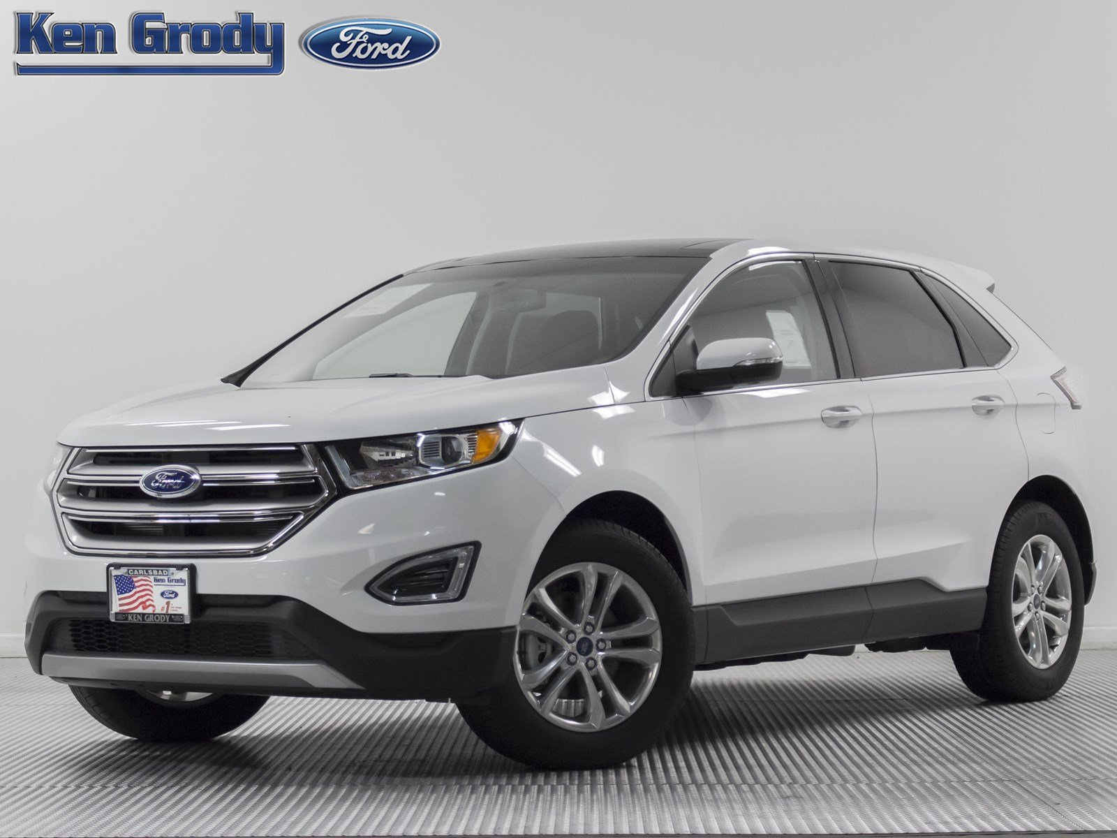 New 2017 Ford Edge SEL Sport Utility in Buena Park 84881  Ken