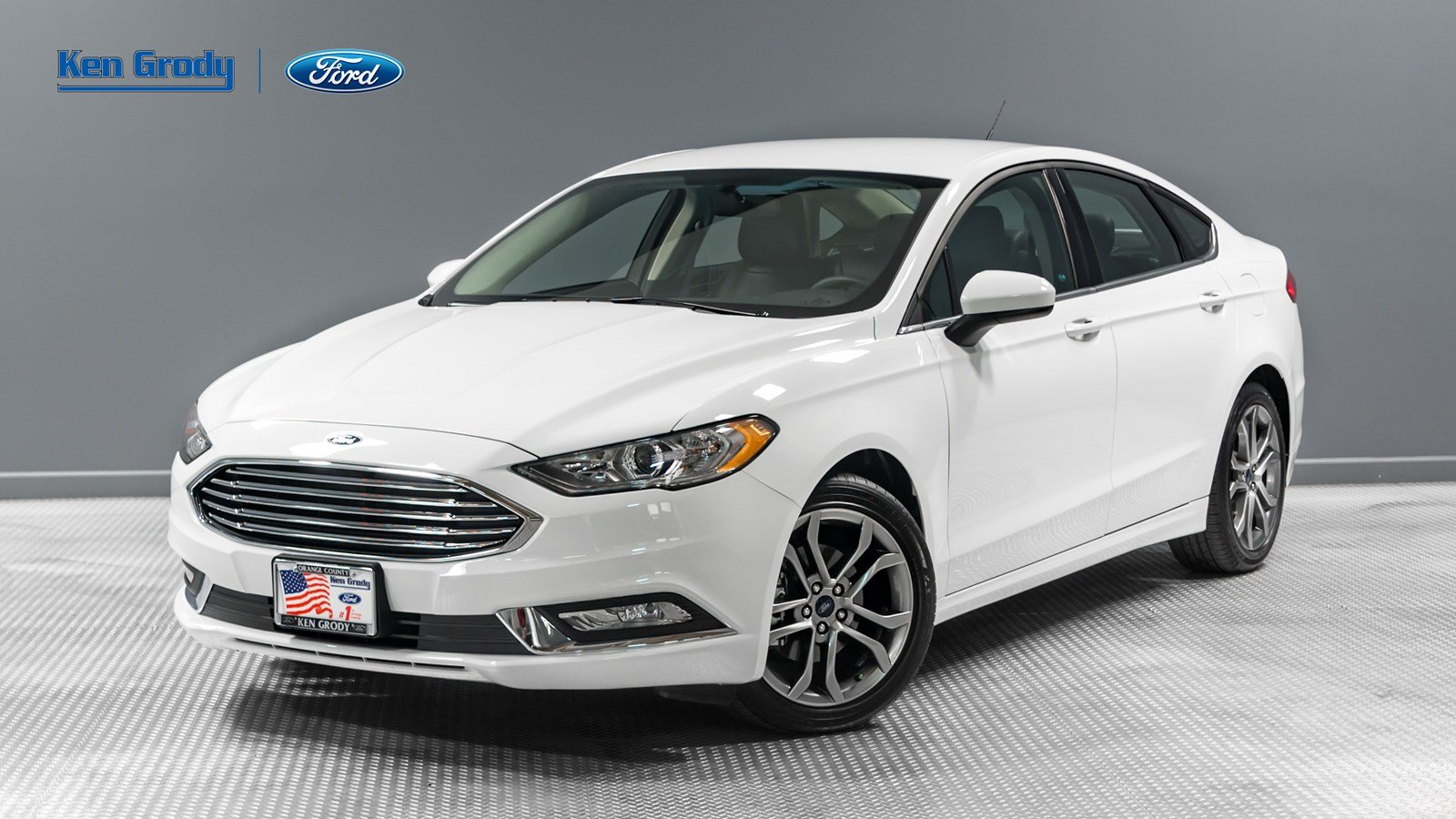 Certified PreOwned 2017 Ford Fusion SE 4dr Car in Buena Park