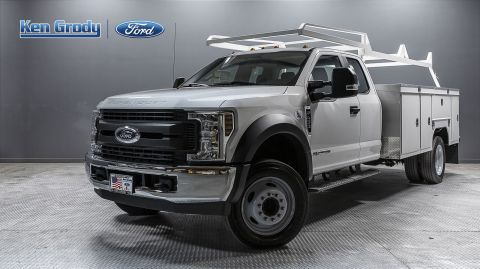 New 2019 Ford Super Duty F-450 DRW XL With 11 Utility