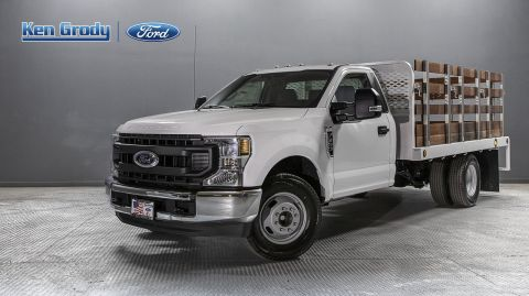 New 2020 Ford Super Duty F-350 DRW XL With 12 Stakebed