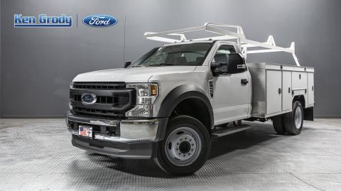 New 2020 Ford Super Duty F-450 DRW XL With 11 Utility