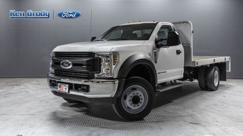 New 2019 Ford Super Duty F-450 DRW XL With 12 Flatbed