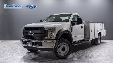 New 2019 Ford Super Duty F-450 DRW XL With 11 Weldmaster