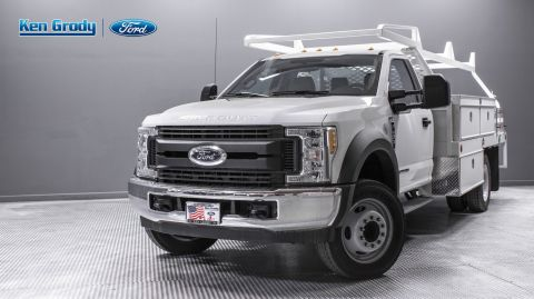 New 2019 Ford Super Duty F-450 DRW XL With 12 Contractor