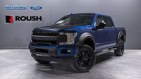 New 2018 Ford F-150 XLT ROUSH