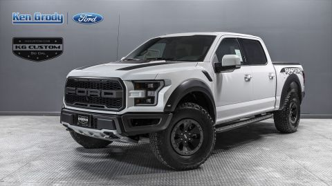 White Ford Raptor >> New 2018 Ford F 150 Raptor Crew Cab Pickup In Buena Park 95311