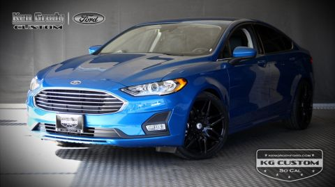 New 2020 Ford Fusion SE KG CUSTOM