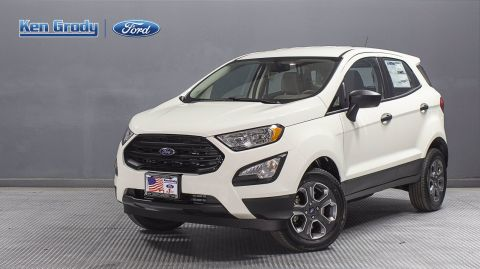New 2020 Ford EcoSport S
